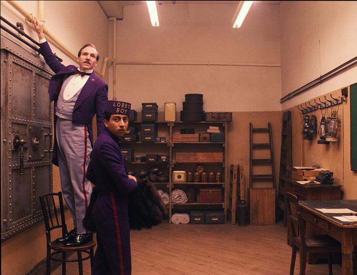 Кадр из фильма «Отель «Гранд Будапешт»