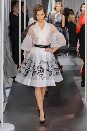 Показ Christian Dior коллекции сезона Весна-лето 2012 года Haute couture - www.elle.ru - Подиум - фото 330484