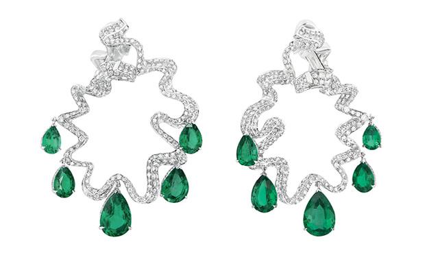 серьги Dior High Jewellery