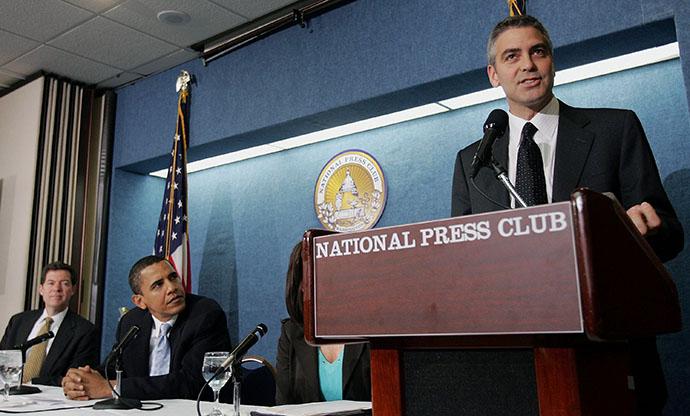 Джордж Клуни может стать президентом США фото