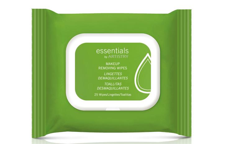 Салфетки для снятия макияжа Makeup Removing Wipes от Essentials by Artistry