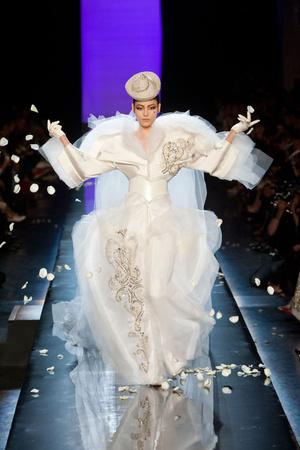 Показы мод Jean Paul Gaultier Осень-зима 2013-2014 | Подиум на ELLE - Подиум - фото 3491