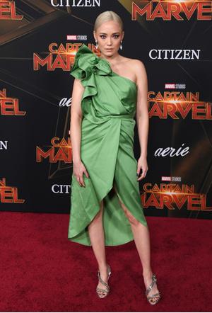 Бри Ларсон, Джемма Чан и другие звезды на премьере фильма «Капитан Марвел» (фото 3.1)