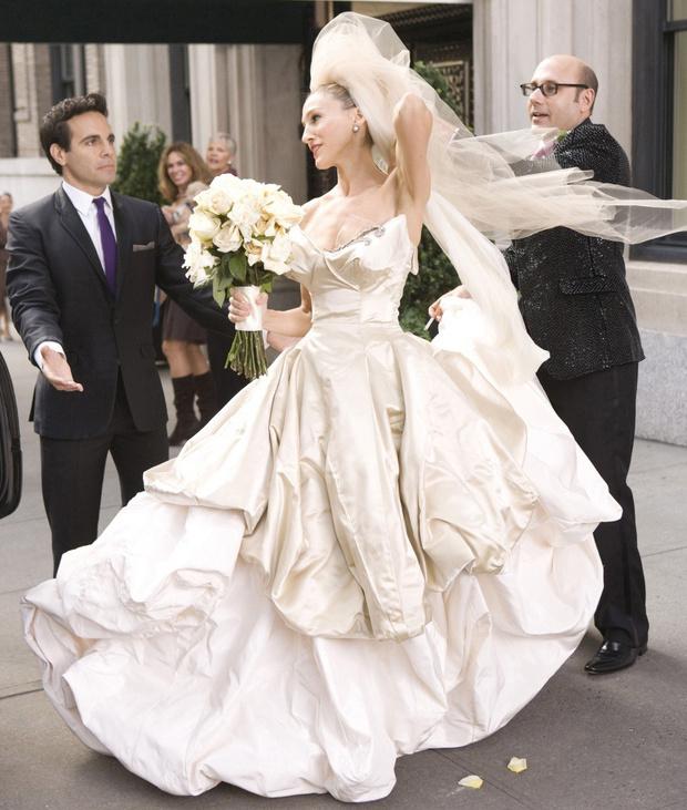 свадебное платье кэрри брэдшоу