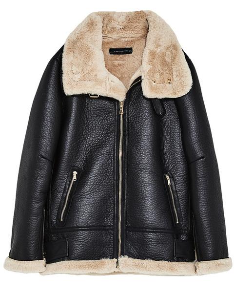 Женские куртки из кожи с мехом фото