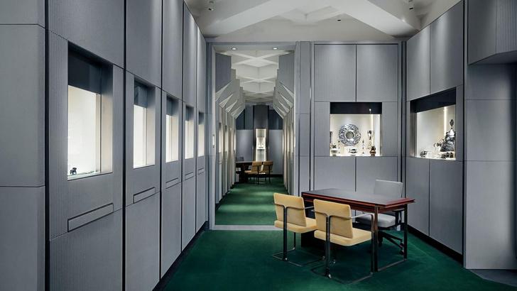 Антикварный салон Wartski в Лондоне (фото 0)