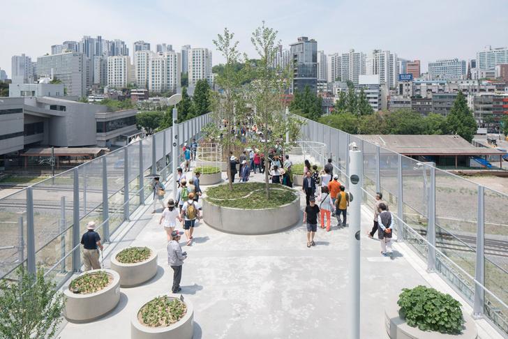 Пешеходная улица в Сеуле