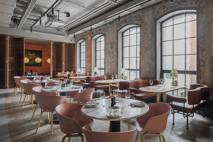 Проект бюро АrchPoint: ресторан «Комбинат» в Москве (фото 20)