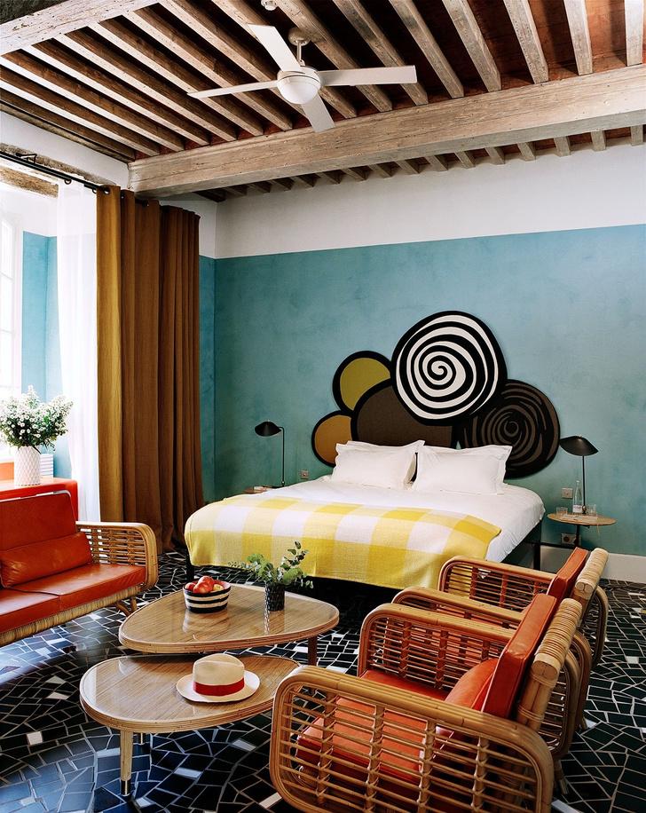 Отель Le Cloître в Провансе: проект Индии Мадави (фото 13)