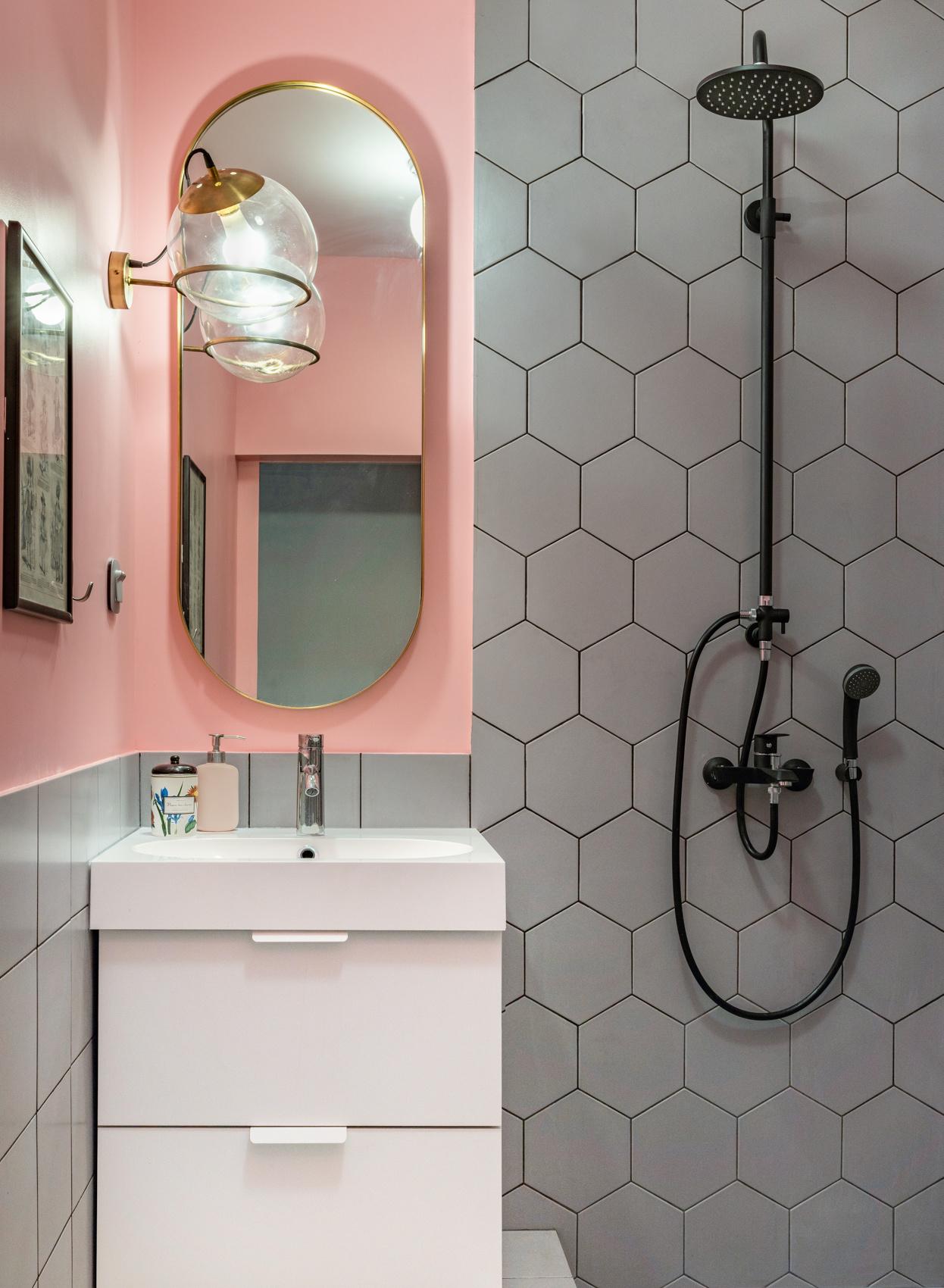 Маленькая ванная комната: 20 интерьеров (галерея 0, фото 9)