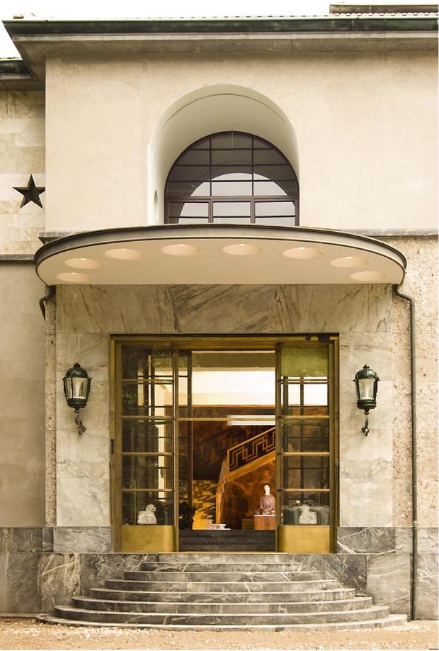 Дом-легенда: вилла Некки-Кампильо в Милане (фото 2)