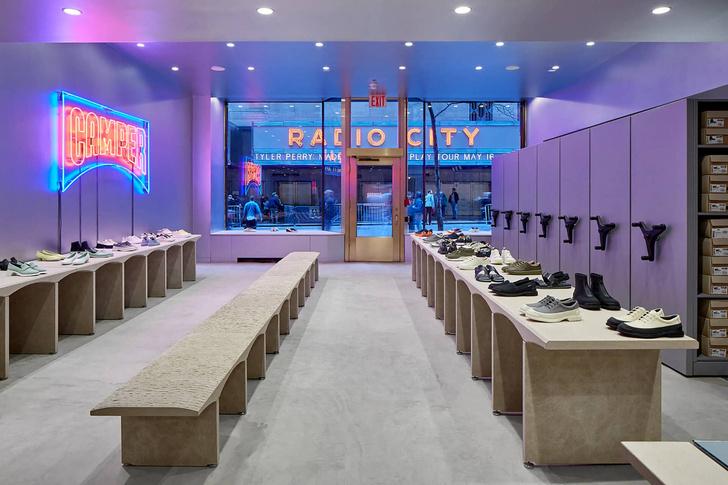 Нью-йоркский бутик Camper по проекту Кенго Кумы (фото 0)
