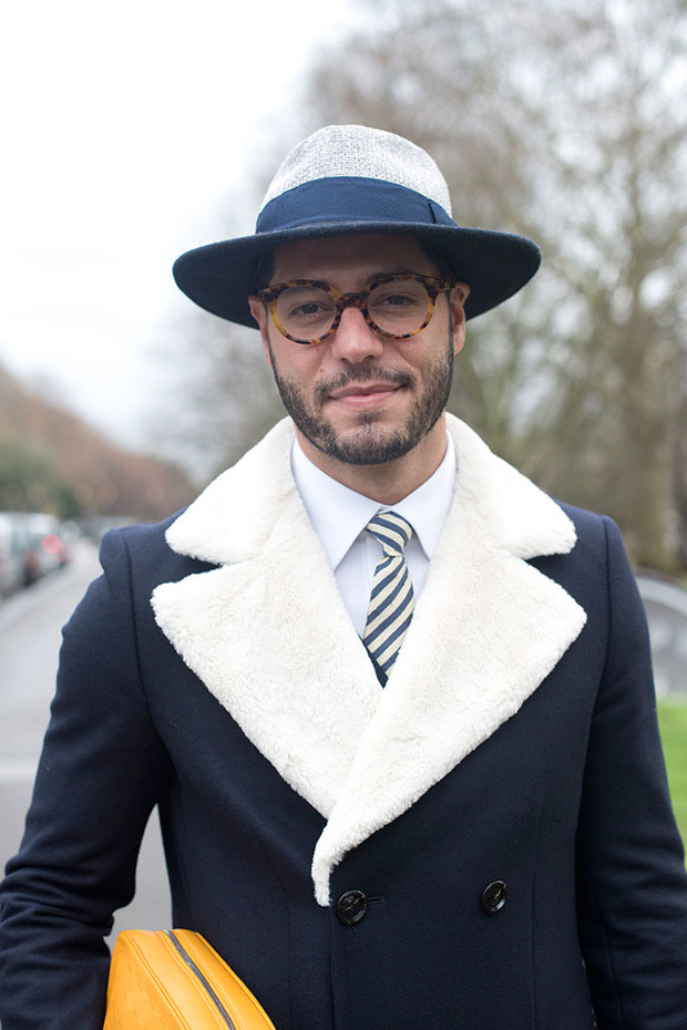 Неделя мужской моды в Лондоне: street style