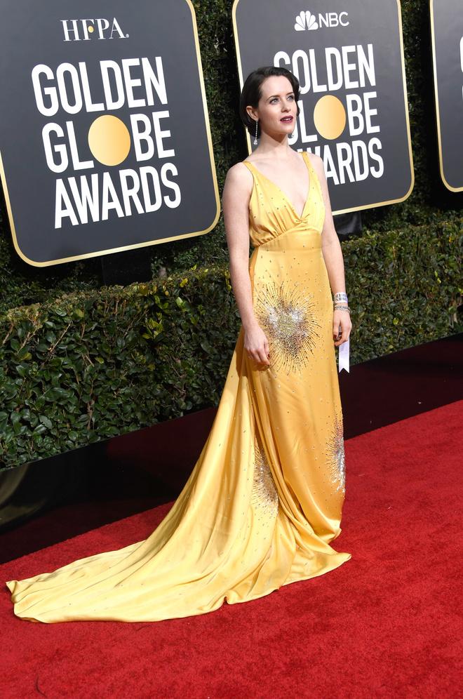 Королева: Клэр Фой на «Золотом глобусе» (фото 2)