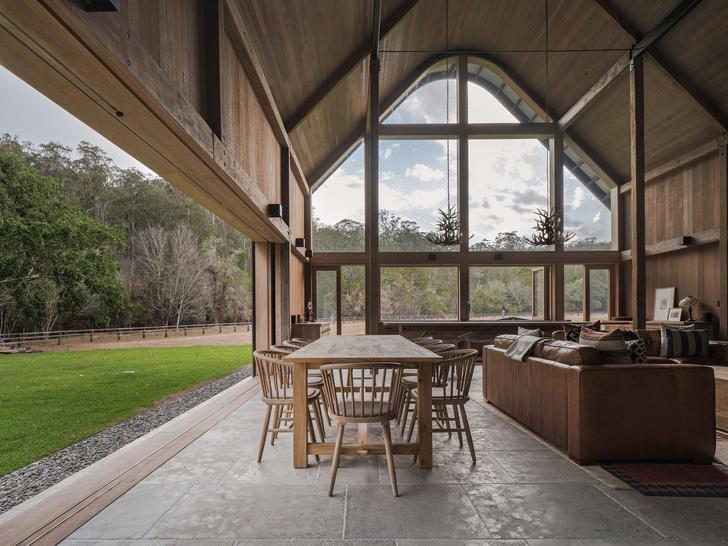 Домик в деревне: загородный дом в стиле Барнхаус в Австралии (фото 7)