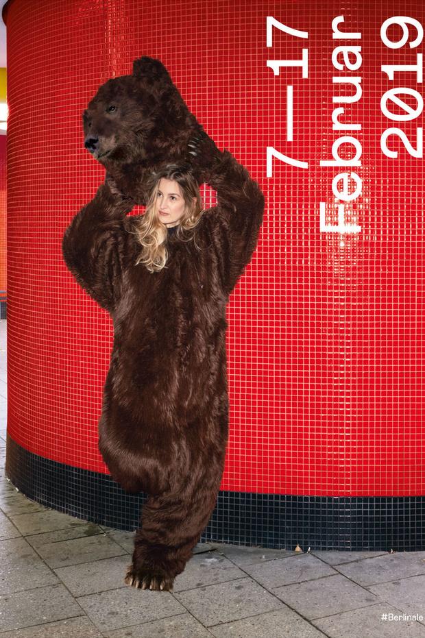 Медведи на велосипеде: как выглядят официальные постеры Берлинале (фото 1)