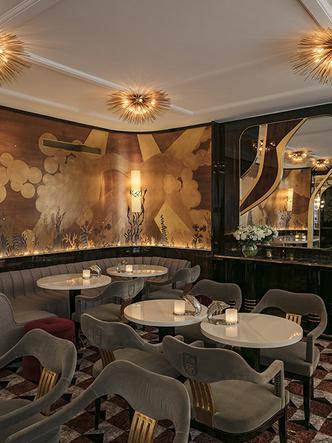 Золотой век: обновленный ресторан La Maison Du Caviar в Париже (фото 2.1)