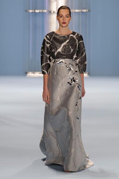 Black tie: показы Carolina Herrera, Reem Acra и Zac Posen на Неделе моды в Нью-Йорке | галерея [2] фото [2]