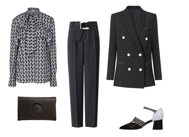 Эффект домино: как носить черные и белые вещи (фото 3)