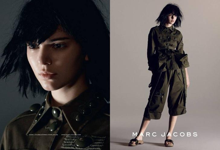 Кенндалл Дженнер в рекламе Marc Jacobs