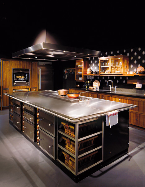Обитаемый остров: кухни La Cornue   галерея [1] фото [2]