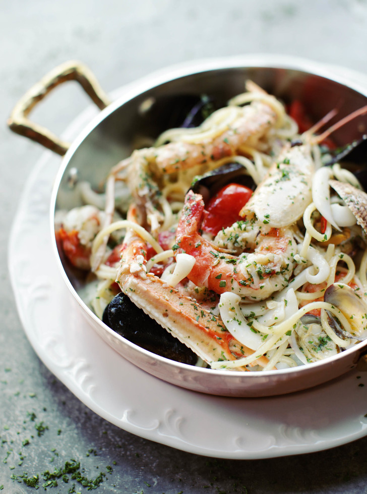 Спагетти фрутти ди маре