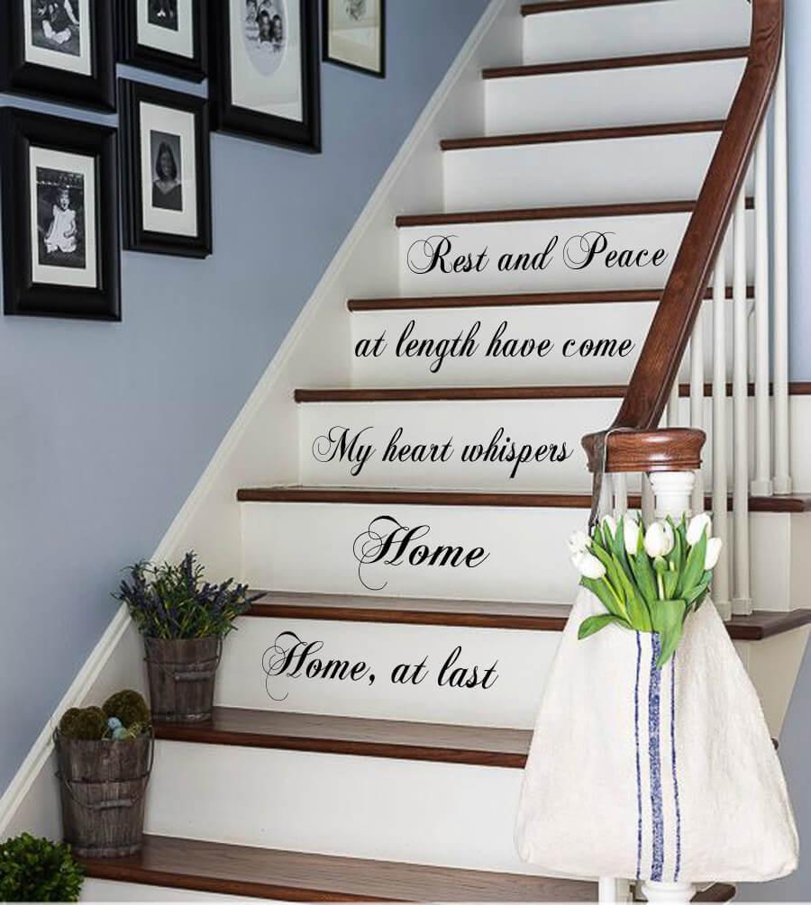 Как обновить лестницу в загородном доме (фото 3)