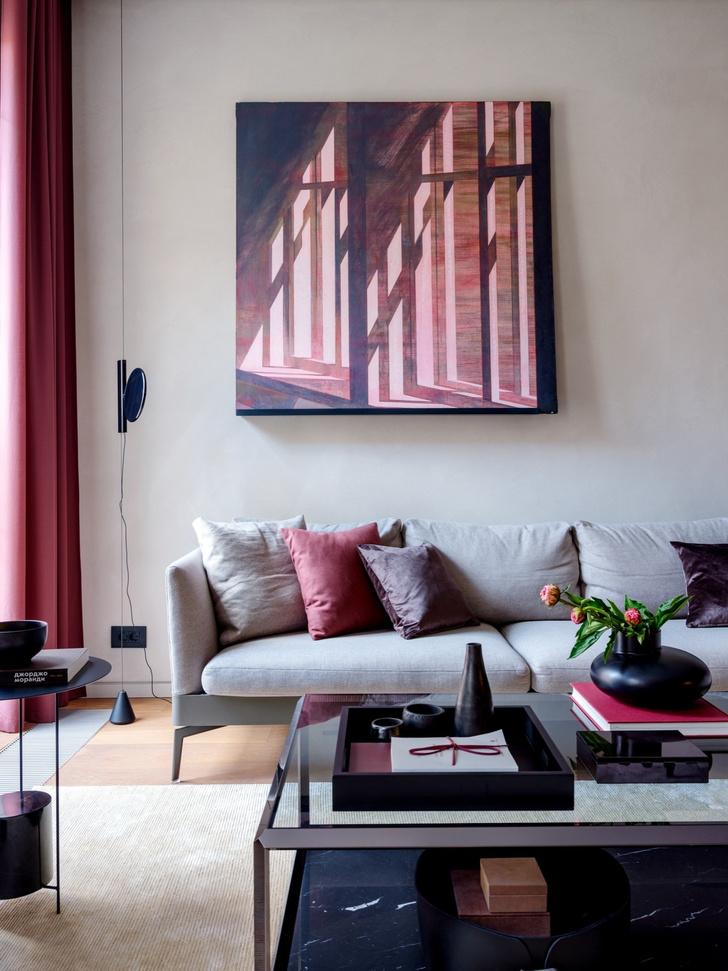 Сила цвета: яркая современная квартира в Москве (фото 0)