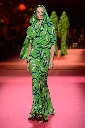 Показ Schiaparelli коллекции сезона Весна-лето 2015 года Haute couture - www.elle.ru - Подиум - фото 592944