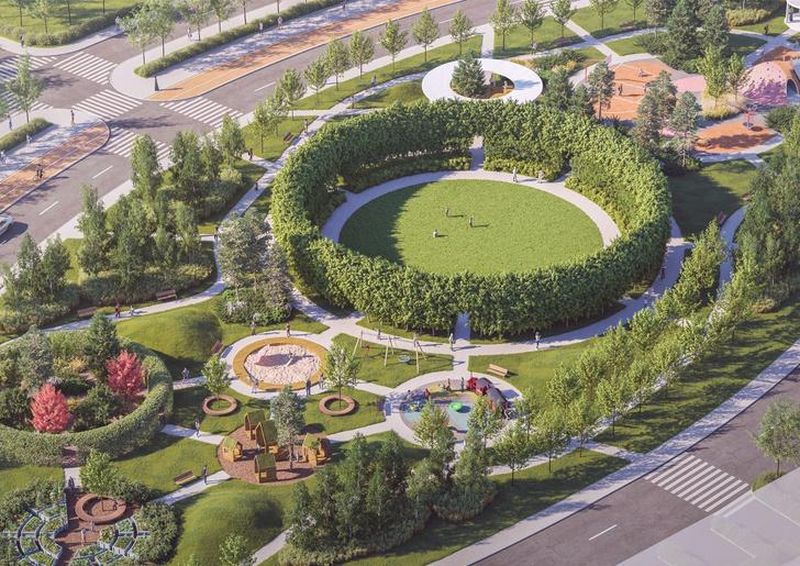 Компания Arteza разработала ландшафтную концепцию развития  общественных зон города Доброград (фото 5)