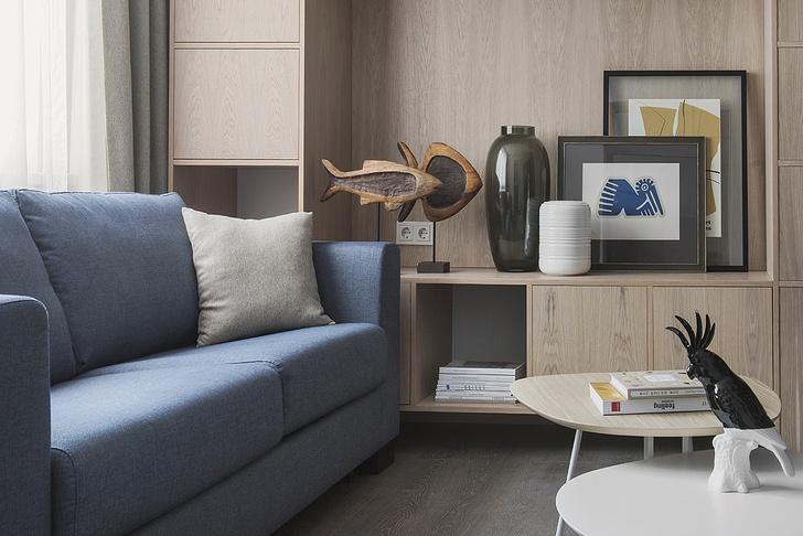 Квартира 38 м² для отдыха после работы (фото 1)