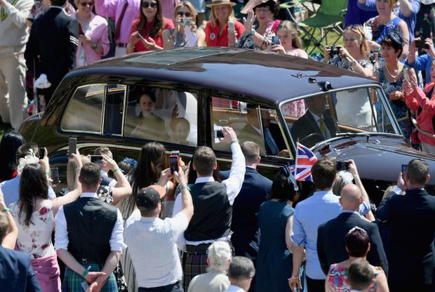 Свершилось! Принц Гарри и Меган Маркл стали мужем и женой (фото 3)