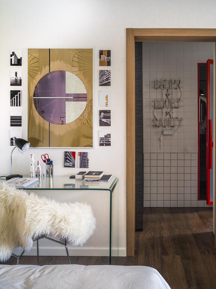 Эклектичная квартира 38 м² для девушки-дизайнера (фото 11)