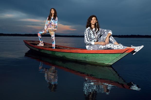 adidas Originals продолжает сотрудничество с бразильской маркой The FARM Company