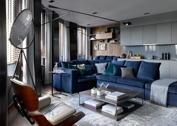 Квартира 108 м²: проект Анастасии Рыковой и Анастасии Божинской (фото 9)