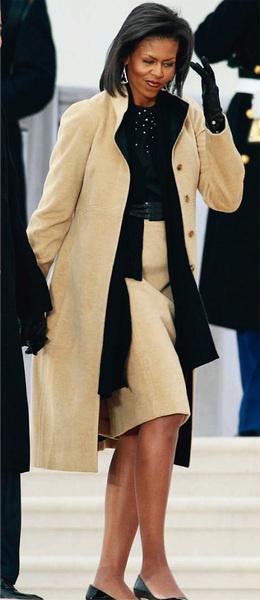 Блузка, юбка, пальто, все — Narciso Rodriquez