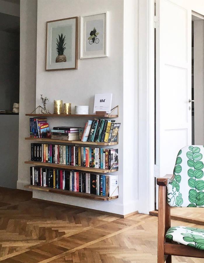 15+ идей для обустройства мини-библиотеки (галерея 1, фото 5)