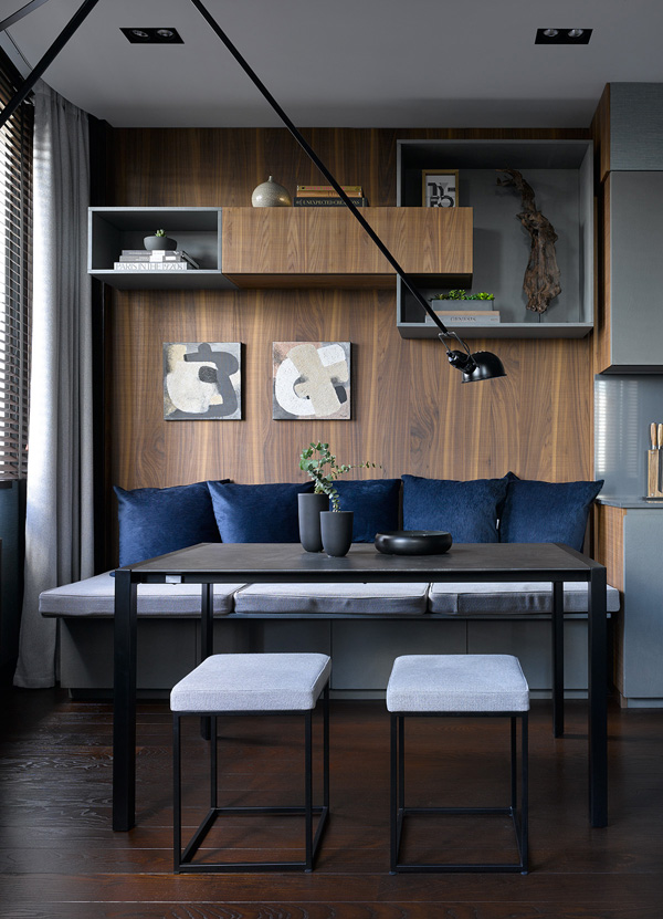 Квартира 108 м²: проект Анастасии Рыковой и Анастасии Божинской (фото 21)