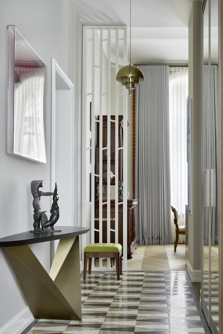 Квартира с предметами искусства: проект Надежды и Гиви Ананьевых (фото 7)