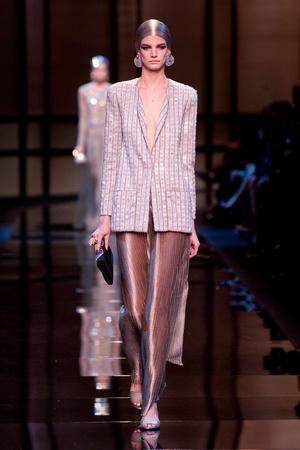 Показ Giorgio Armani Privé коллекции сезона Весна-лето 2014 года Haute couture - www.elle.ru - Подиум - фото 574936