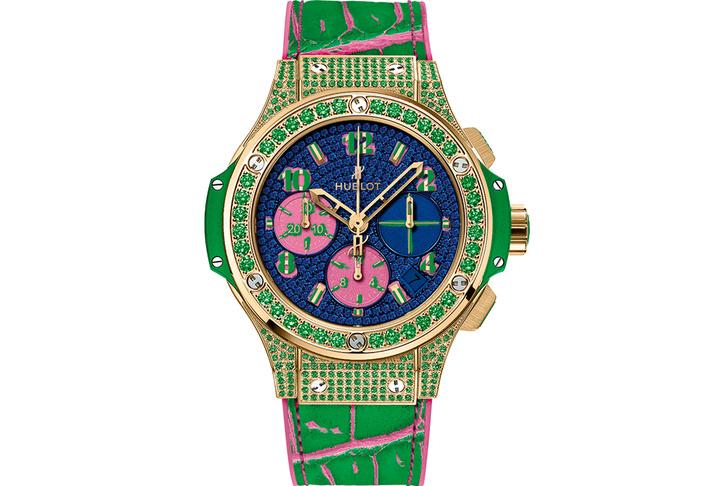 Часы Hublot Big Bang Pop Art Jewellery