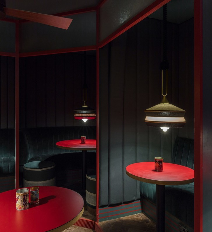Ретро-кафе Piraña в Лондоне (фото 7)