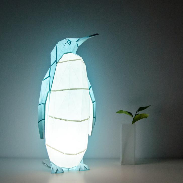 В мире животных: милые светильники OWL (фото 0)