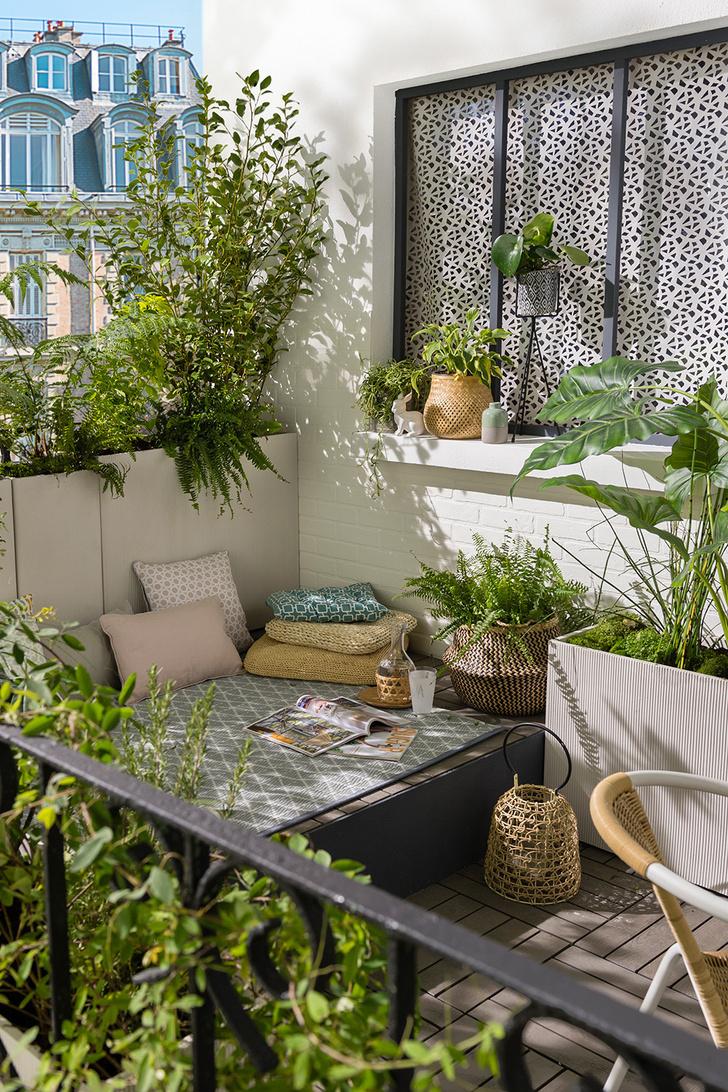 Как защитить летнюю террасу и балкон от шума? (фото 4)