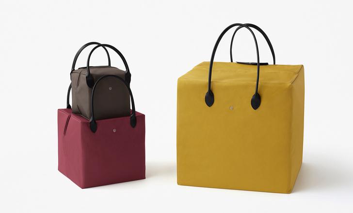 Новая коллекция сумок Nendo для Longchamp (фото 4)