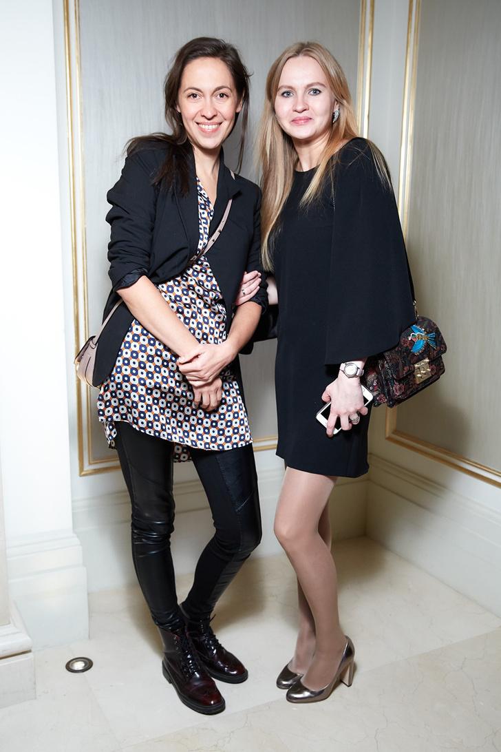 Валентина Королева (Caterina Group) и Евгения Ставровская (ELLE)