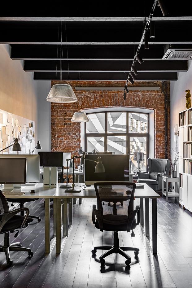 Атмосферный офис дизайн-студии Aiya Design в Москве (фото 5)