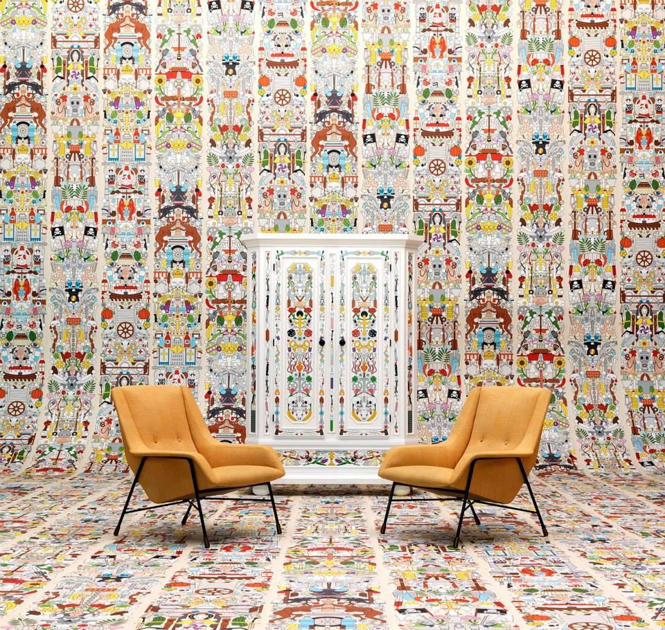 Job Studio, обои, дизайн, оформление стен, NLXL