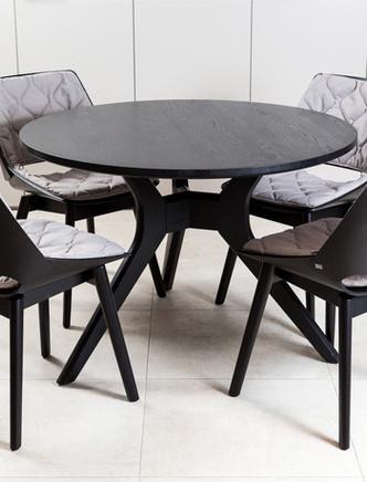 Топ-10: обеденные столы и стулья фото [7]