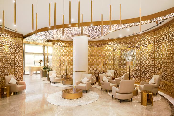 VIP-лаунж в аэропорту Омана обставили мебелью Longhi (фото 9)